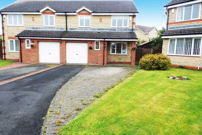 Thumbnail Semi-detached house for sale in Humford Green, Blyth