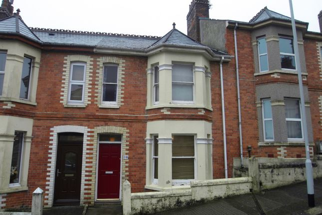 Thumbnail Terraced house to rent in Kinross Avenue, Plymouth