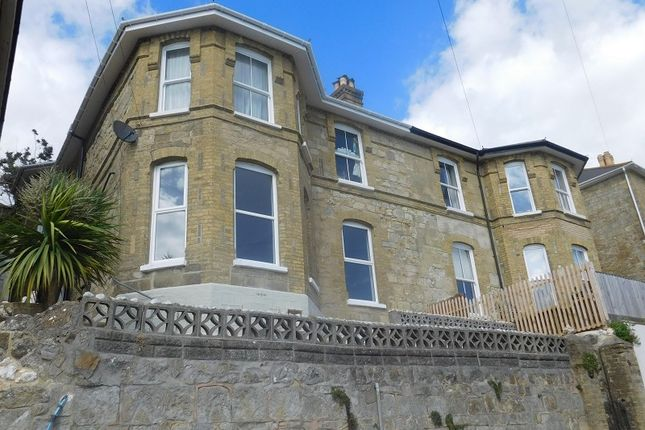 Thumbnail 3 bed flat to rent in Madeira Road, Ventnor, Isle Of Wight.