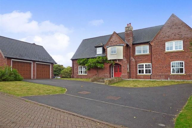 Thumbnail Detached house for sale in Kingsdown Close, Wychwood Park, Crewe