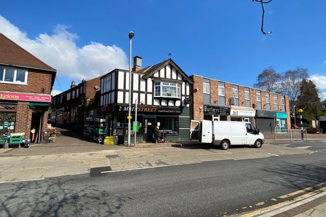 Thumbnail Retail premises for sale in Main Street And Station Terrace, Radcliffe-On-Trent