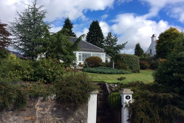 Thumbnail Detached house for sale in 4 Irvine Terrace, Pitlochry