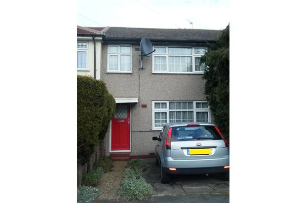 Thumbnail Terraced house to rent in Morecambe Close, Hornchurch