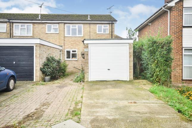 Thumbnail End terrace house for sale in Quantock Drive, Ashford, Kent