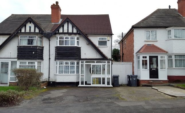 Thumbnail Semi-detached house for sale in Copthall Rd, Handsworth