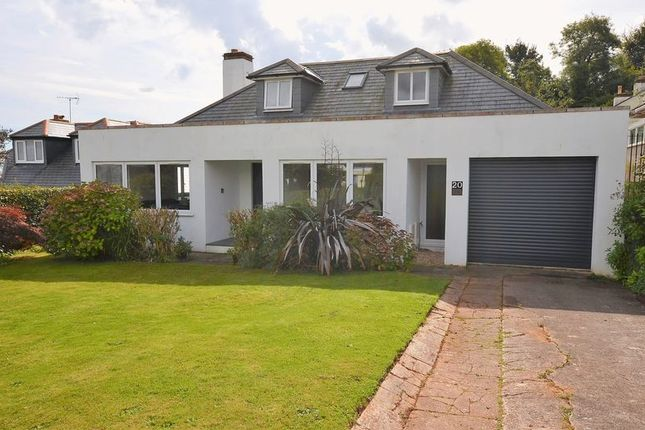 Thumbnail Bungalow for sale in North Rocks Road, Broadsands, Paignton.