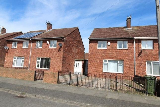Thumbnail Semi-detached house to rent in Axwell Drive, Blyth