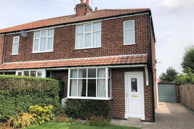 Thumbnail Semi-detached house to rent in Fordlands Road, Fulford, York