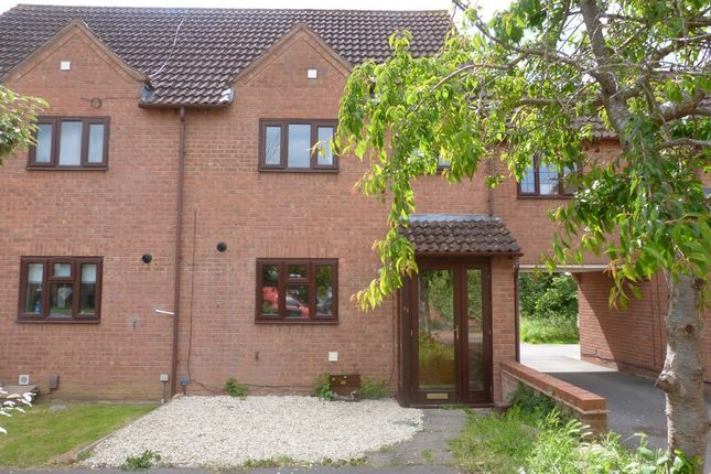 Thumbnail Semi-detached house to rent in Lanham Gardens, Quedgeley, Gloucester
