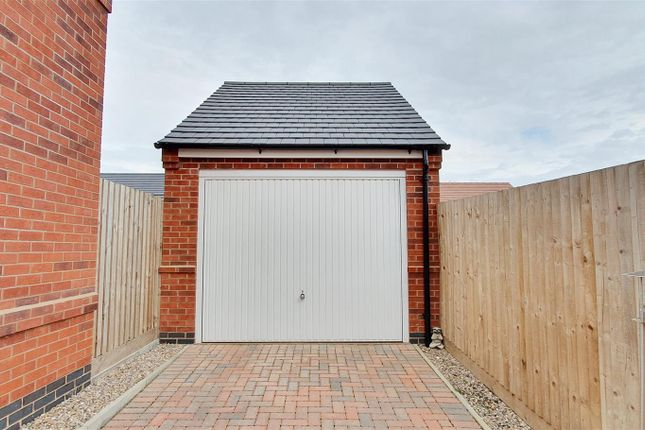 Detached Garage of Choyce Close, Hugglescote, Leicestershire LE67