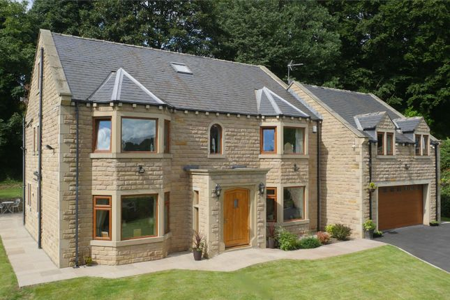 Thumbnail Detached house for sale in Washer Lane, Halifax, West Yorkshire