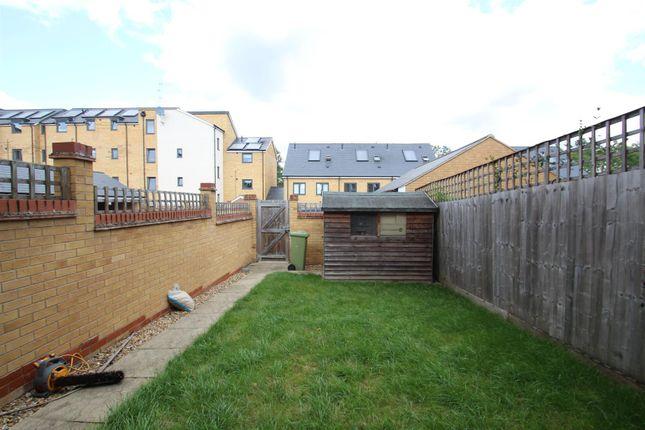 Rear Garden of Wodell Drive, Wolverton, Milton Keynes MK12