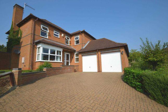 Thumbnail Detached house for sale in Comfrey Close, Walnut Tree, Milton Keynes