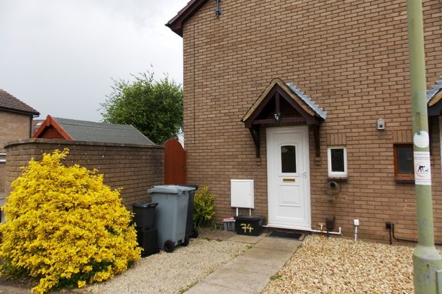 Thumbnail End terrace house to rent in Bracken Close, Carterton