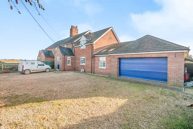 Thumbnail Semi-detached house for sale in Gedney Marsh, Gedney Drove End, Spalding