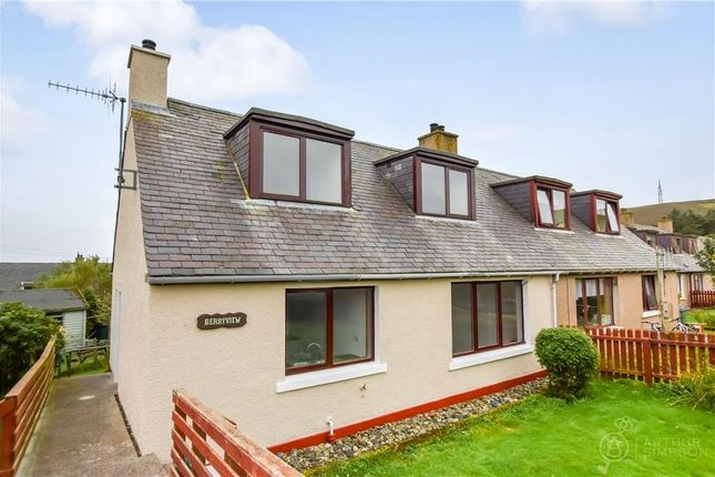 Thumbnail Semi-detached house for sale in 11 Ingaville Road, Scalloway, Shetland
