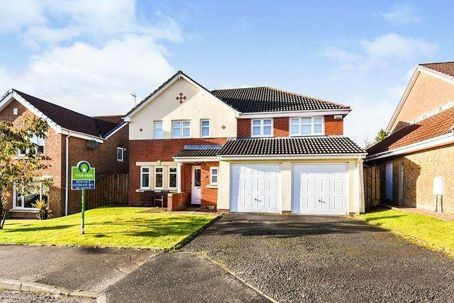 Thumbnail Detached house for sale in Ratho Drive, Cumbernauld, Glasgow, North Lanarkshire