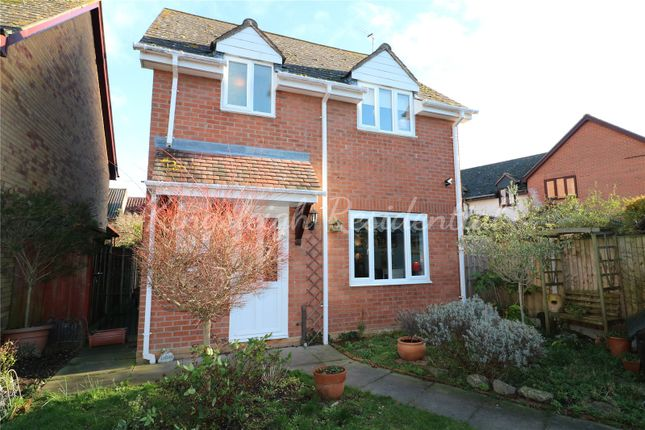 Thumbnail Detached house for sale in Hurrell Down, Highwoods, Colchester, Essex
