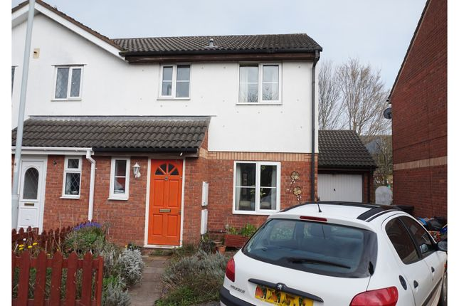 Thumbnail Semi-detached house for sale in Witham Close, Taunton