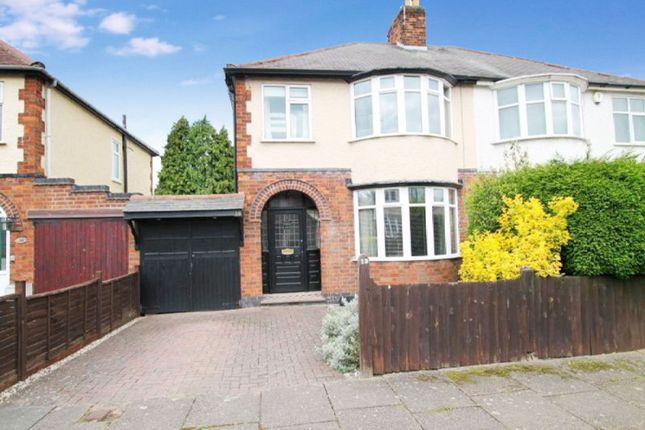 3 bed semi-detached house for sale in Hillcrest Road, Knighton, Leicester