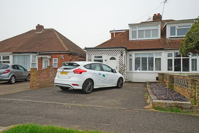 Thumbnail Semi-detached bungalow to rent in Bayly Avenue, Portchester, Fareham