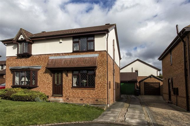 Thumbnail Semi-detached house for sale in The Coppice, Mirfield, West Yorkshire