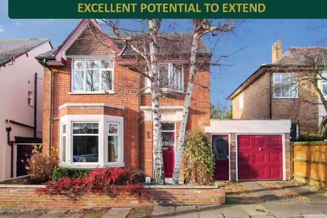 Thumbnail Detached house for sale in Knighton Church Road, South Knighton, Leicester
