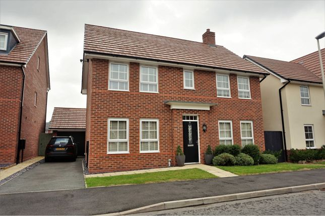 Thumbnail Detached house for sale in Silverlea Road, Northwich