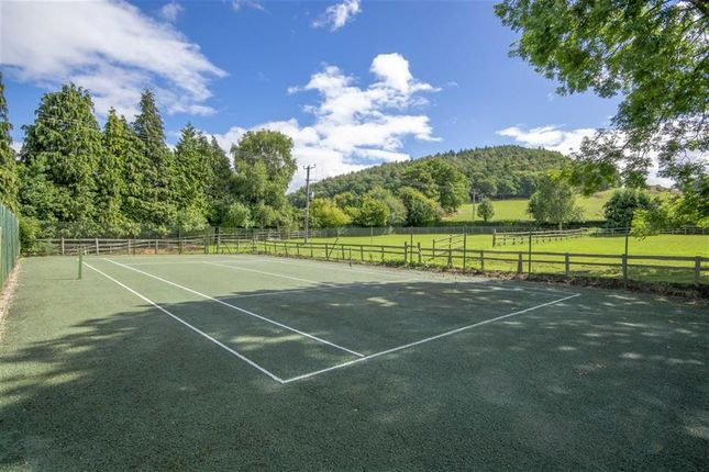 Tennis Court of Llanfechain SY22