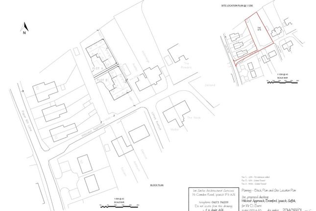 Thumbnail Land for sale in Hillcrest Approach, Bramford, Ipswich