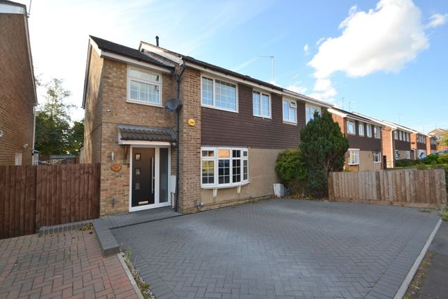 Thumbnail Semi-detached house for sale in St. Johns Avenue, Kingsthorpe, Northampton