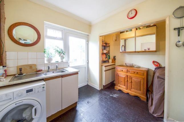 Kitchen of Waltheof Gardens, London N17