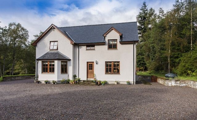 Thumbnail Detached house for sale in Bhlaraidh, Glenmoriston, Inverness, Highland