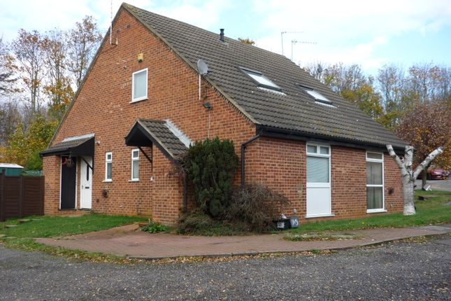 Thumbnail End terrace house for sale in Linacre Close, Northampton