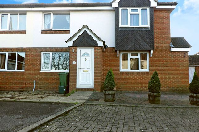 Thumbnail Terraced house to rent in Honour Close, Aylesbury, Buckinghamshire
