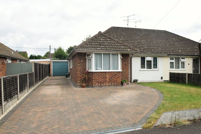 Thumbnail Semi-detached bungalow for sale in Lawford Crescent, Yateley