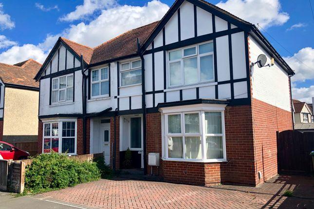 Thumbnail Semi-detached house for sale in Lansdowne Road, Regents Park, Southampton