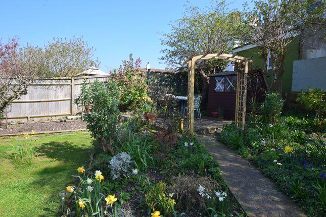 Rear Garden  of Castle Drive, Pevensey Bay BN24