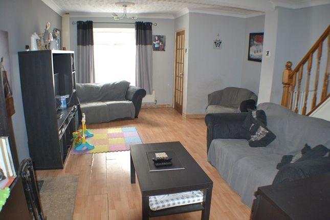 Lounge of Alma Terrace, Taibach, Port Talbot, Neath Port Talbot. SA13