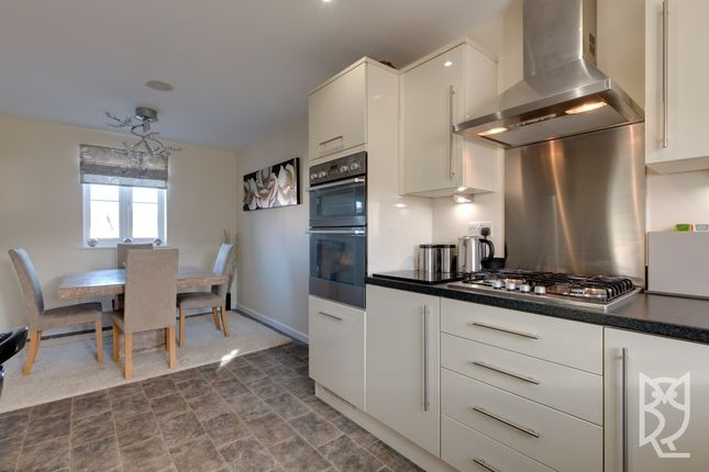 Thumbnail Terraced house for sale in Corunna Drive, Colchester, Essex