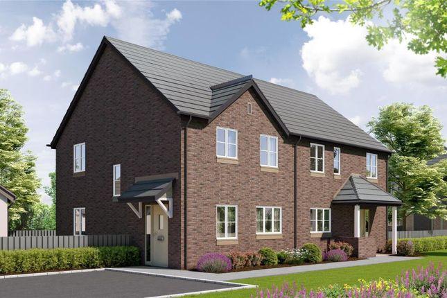 Thumbnail Semi-detached house for sale in Abbeyford Vale, Crediton Road, Okehampton, Devon