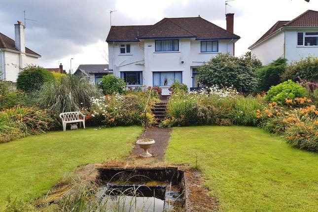 Thumbnail Detached house for sale in Dan-Y-Bryn Avenue, Radyr, Cardiff