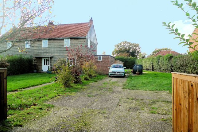 Thumbnail Property for sale in Sutton Crescent, Freethorpe, Norwich