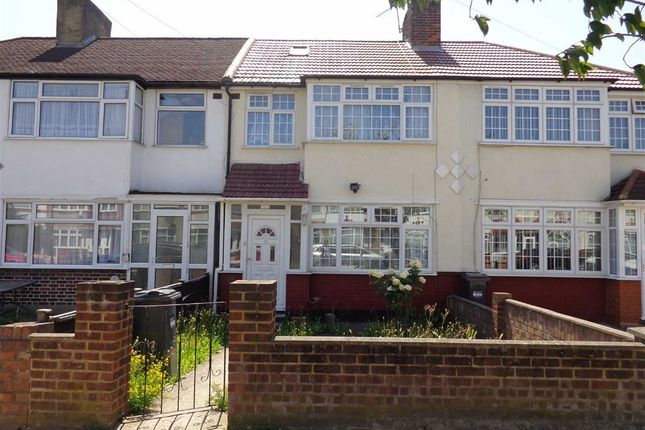 Thumbnail Terraced house for sale in Hadley Gardens, Norwood Green, Middlesex