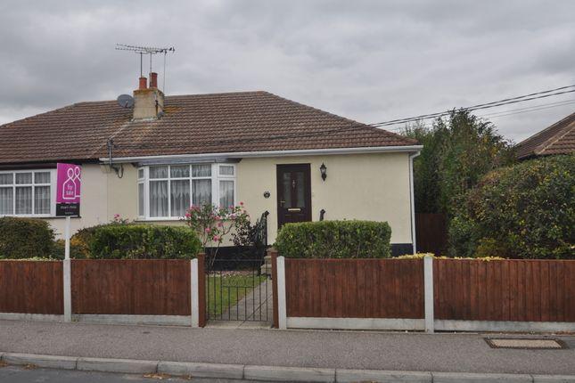 Thumbnail Semi-detached bungalow for sale in Clifton Avenue, Benfleet