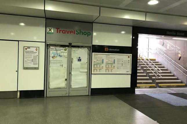 Retail premises to let in Nexus Travel Shop, Central Station Metro Station, Newcastle Upon Tyne