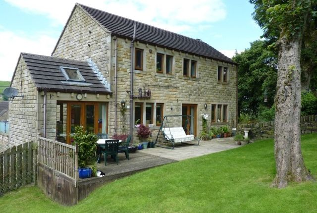 Thumbnail Detached house for sale in Deer Hill Drive, Marsden, Huddersfield, West Yorkshire