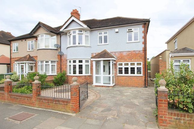 Thumbnail Semi-detached house for sale in Charldane Road, New Eltham