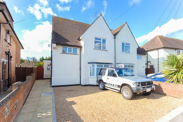 Thumbnail Semi-detached house for sale in St. Georges Crescent, Cippenham, Slough