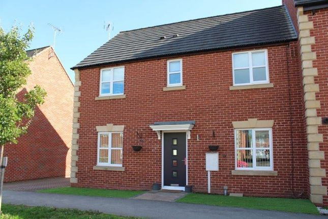 Thumbnail Semi-detached house for sale in Ocean Drive, Warsop, Mansfield